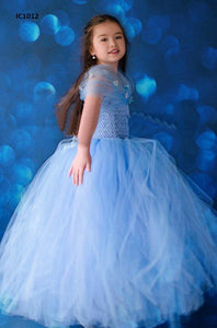 Blue Tutu Dress For Babies
