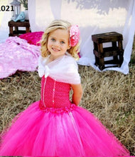 Load image into Gallery viewer, Pink Tutu Dresses For Girls Online