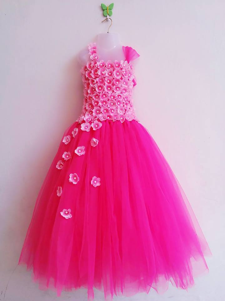 Fuschia Tutu Dress For Sale