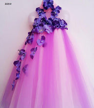 Load image into Gallery viewer, Purple Birthday Tutu Dresses For Girls