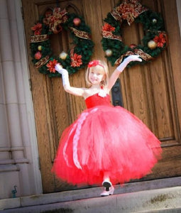 Red Tutu Dress For Kids