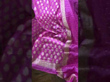 Load and play video in Gallery viewer, PINK Banarasi Khaddi Salwar Suit