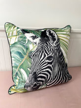 Load image into Gallery viewer, Zebra Cushion