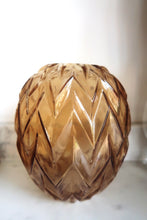Load image into Gallery viewer, Vintage Zig Zag Vase