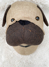 Load image into Gallery viewer, Fabric Wall Mounted Pug Head