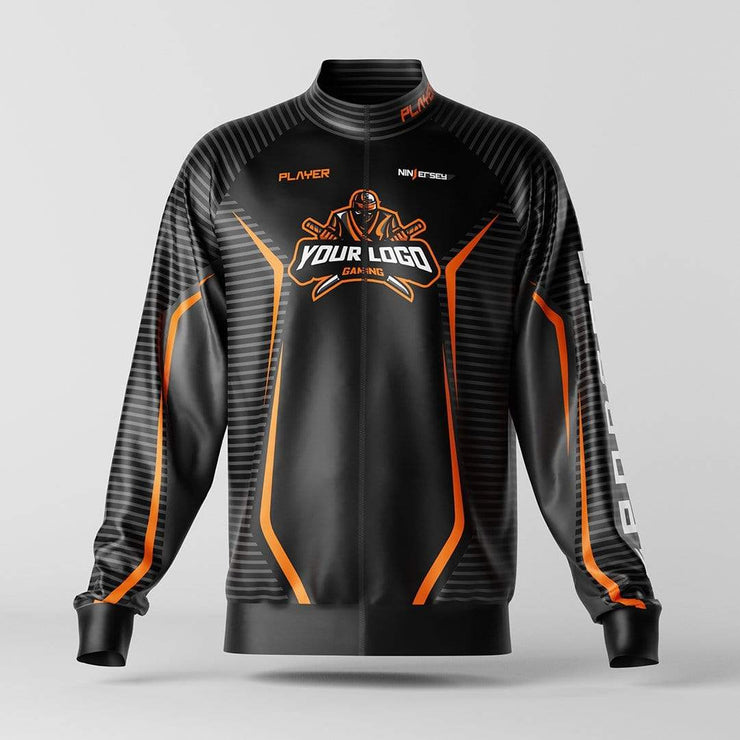 "Ninjersey CUSTOM JACKET ""BASE SPACE"" Custom esports jersey"