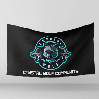 Ninjersey TEAM CRYSTAL WOLF OFFICIAL FLAG Custom esports jersey