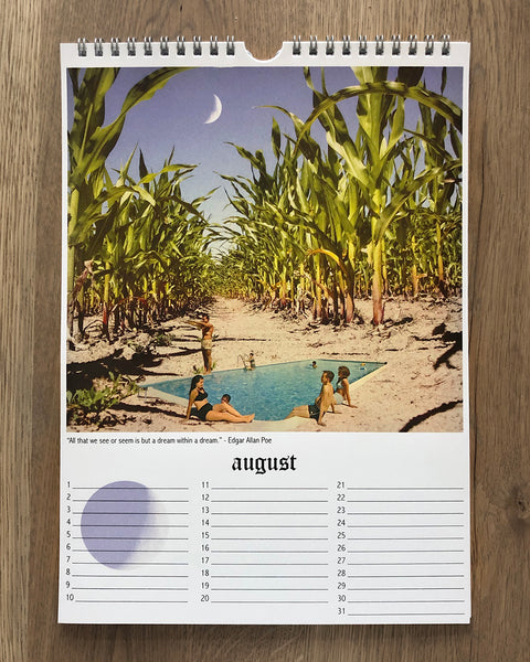 Collage Art Calendar - limited edition