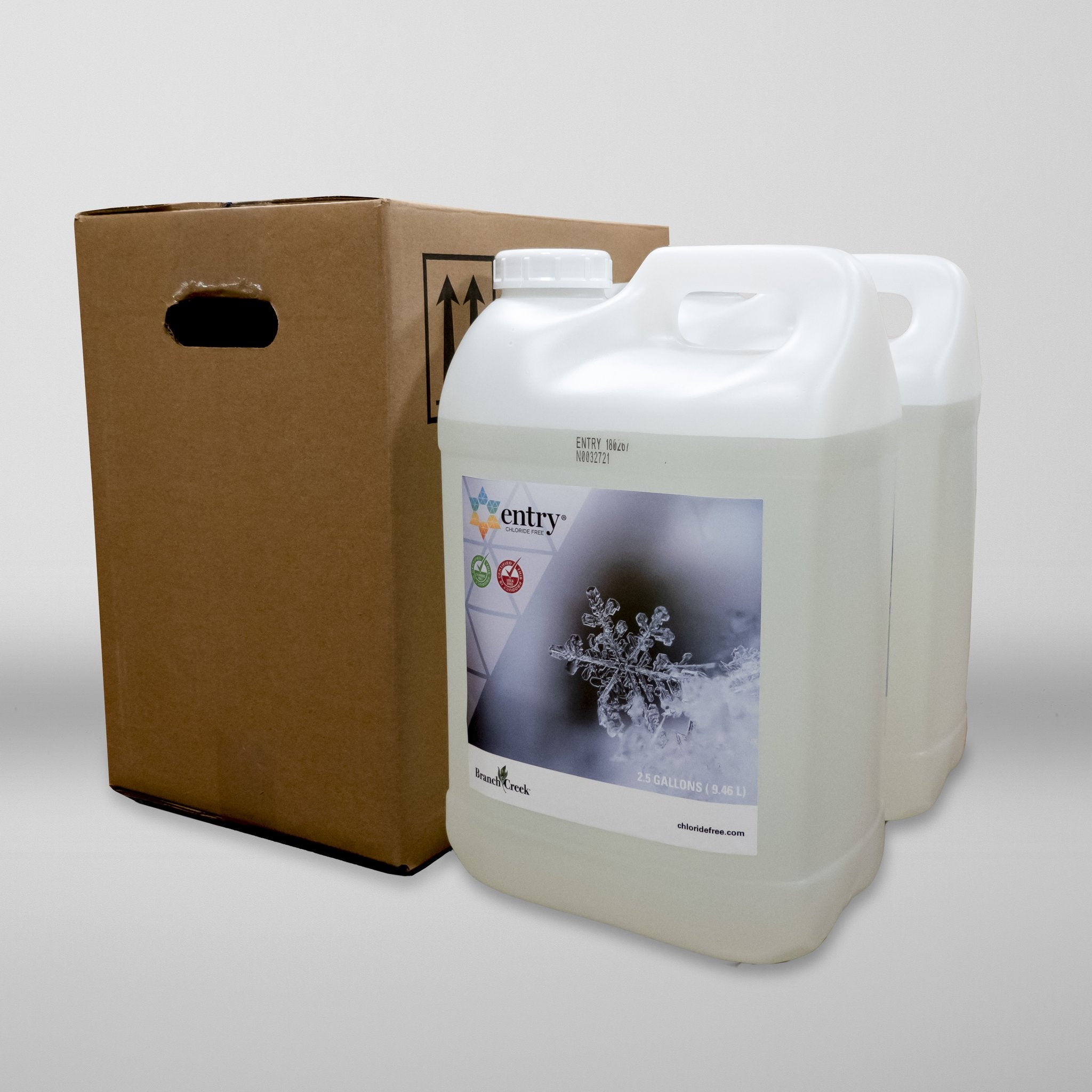 Entry® De-icer  By The Case