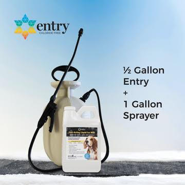 Residential Bundle (1/2 Gallon Entry® & Residential Hand Pump Sprayer)