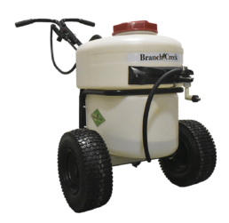 Branch Creek® Battery powered walk behind sprayer.