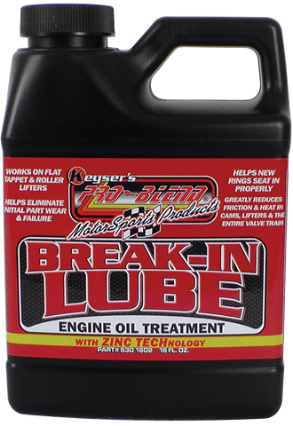 Break-In Lube (16 oz.)