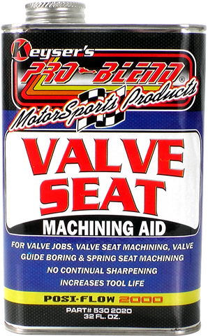 Valve Seat Machining Aid (32 oz.)