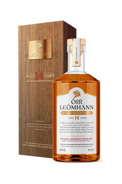 ÒIR LEÒMHANN Inaugural Incorporation Edition. 14 Years Old. Rare 500 Bottles.