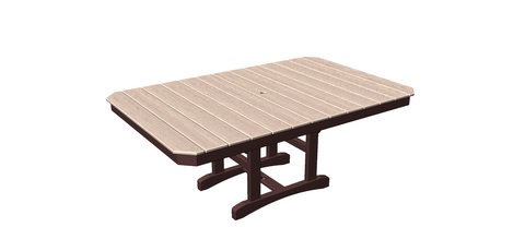 "48""x75"" Rectangle Trestle Table"