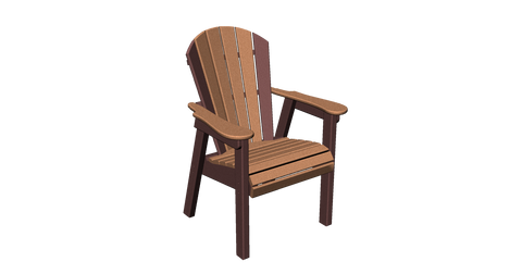 Fan Back Dining Chair