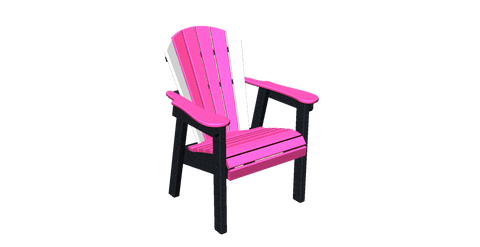 Fan Back Lawn Chair
