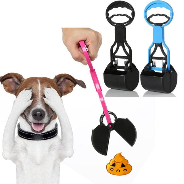 28CM Handle Walking Pet Dog Pooper Scooper Outdoor