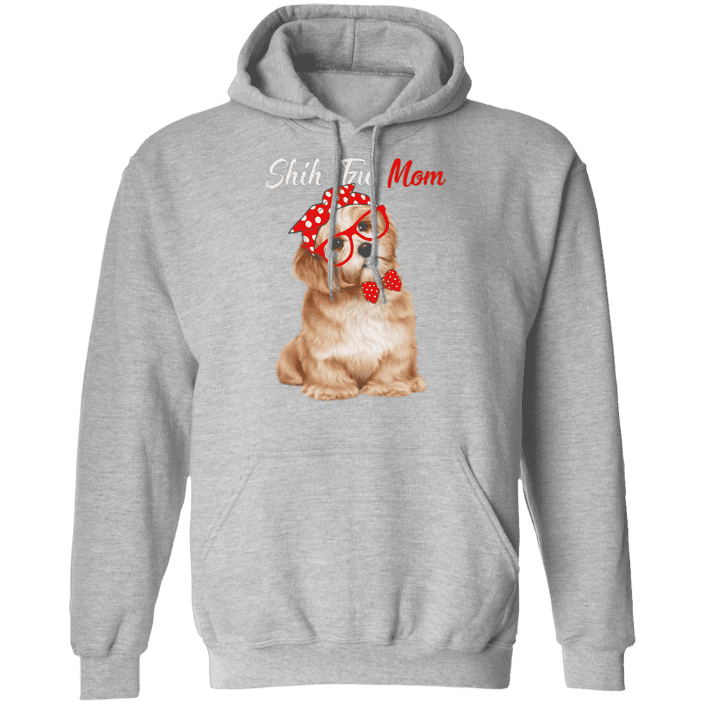 SHI TZU MOM LADIES Pullover Hoodie 8 oz.