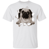 PUG 3D Princess 5.3 oz 100% Cotton T-Shirt