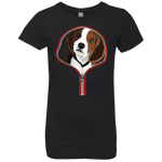 BEAGLE ZIP-DOWN Girls' Princess T-Shirt