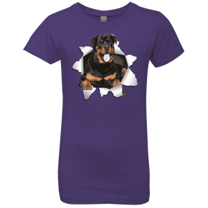 ROTTWEILER 3D Girls' Princess T-Shirt