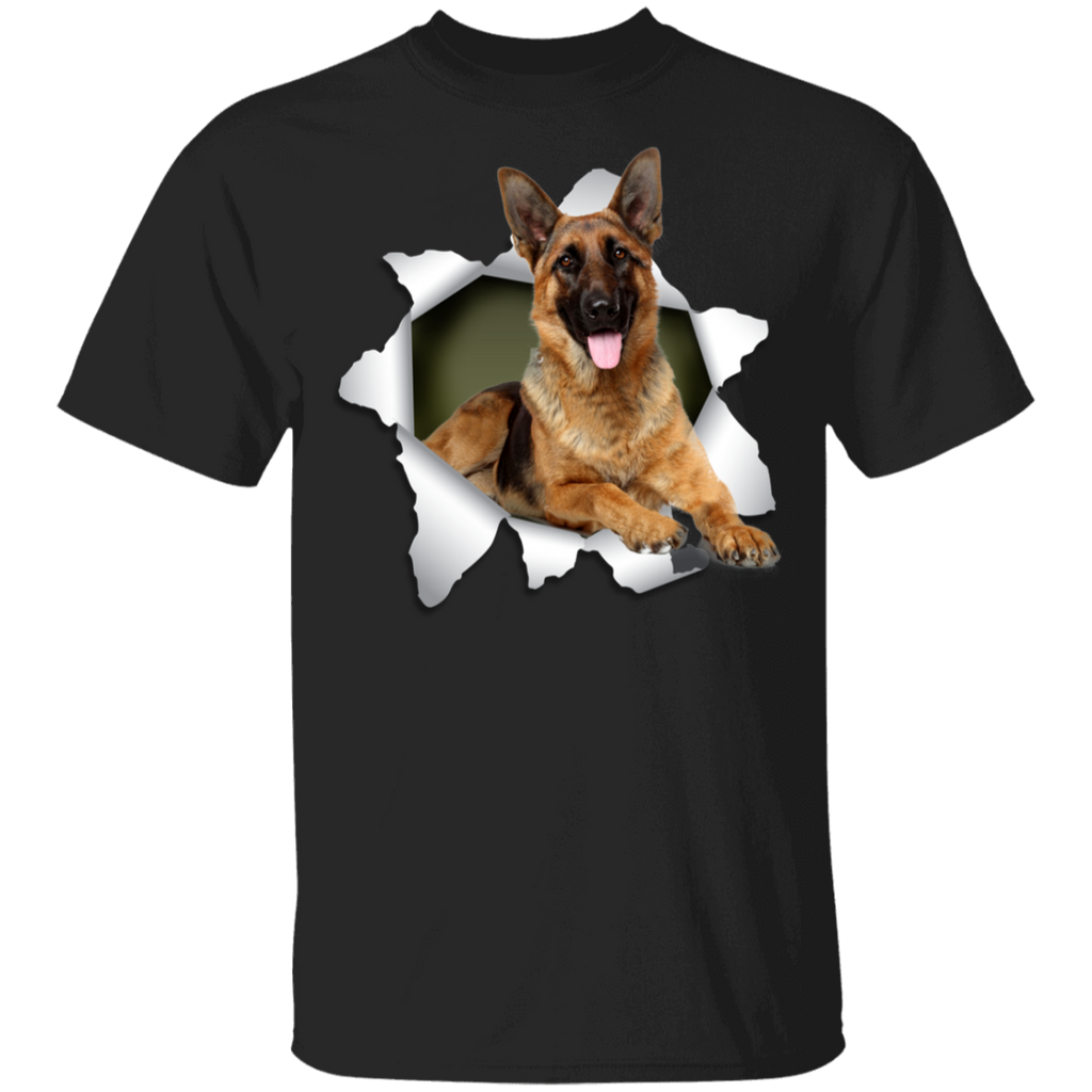 GERMAN SHEPARD 3D Princess 5.3 oz 100% Cotton T-Shirt