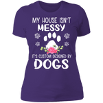 MY HOUSE ISN'T MESSY Ladies' Boyfriend T-Shirt