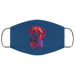 Hand painted Bullmastiff human Face Mask