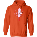 POMERANIAN ZIP-DOWN LADIES Pullover Hoodie 8 oz.