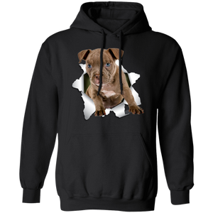 PITBULL 3D Pullover Hoodie 8 oz.