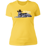 MEOWDY TEXAS CAT Ladies' Boyfriend T-Shirt