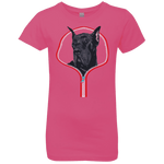 GREAT DANE ZIP-DOWN Girls' Princess T-Shirt