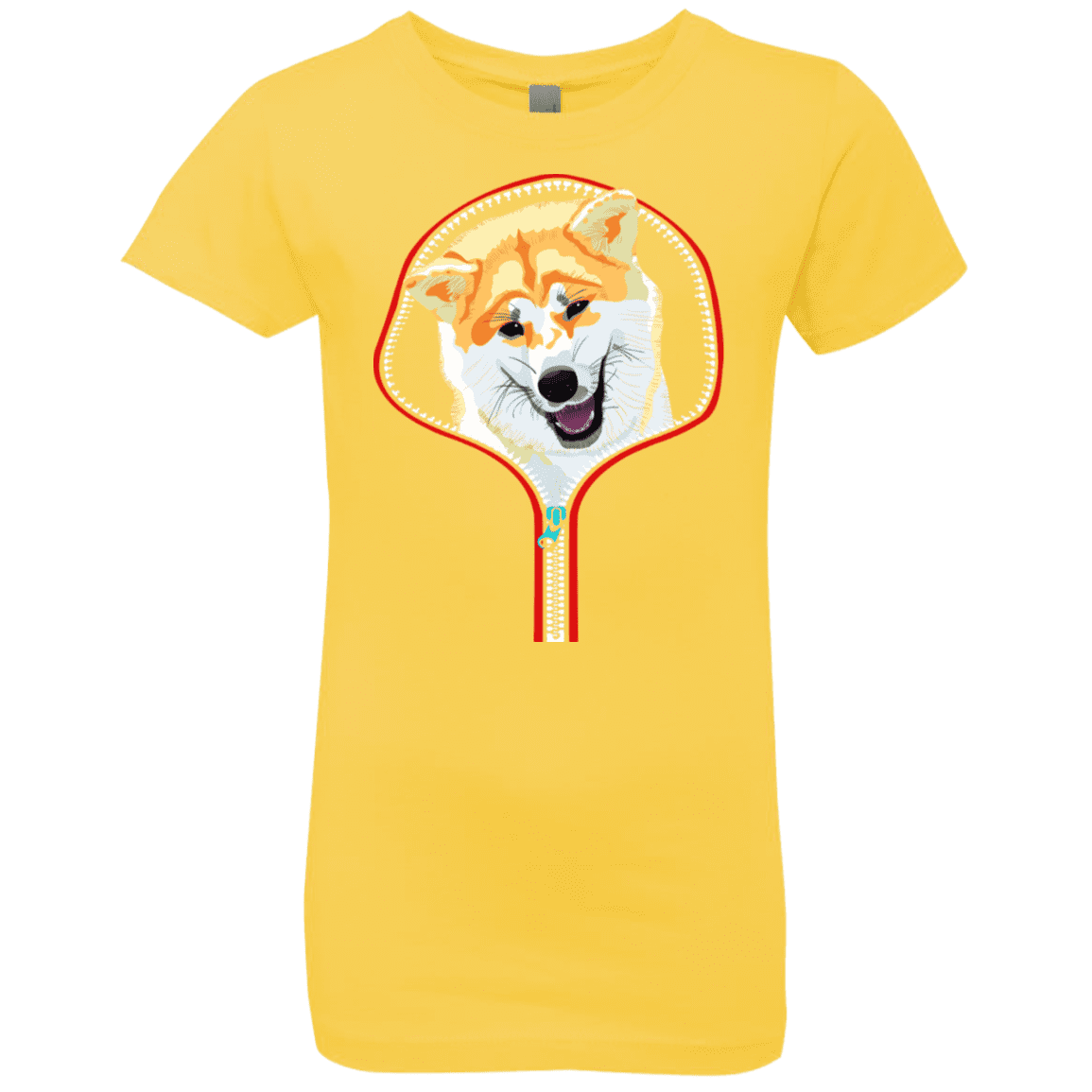 AKITA ZIP-DOWN Girls' Princess T-Shirt