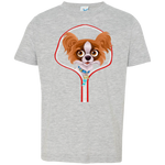 PAPILLON ZIP-DOWN Toddler Jersey T-Shirt