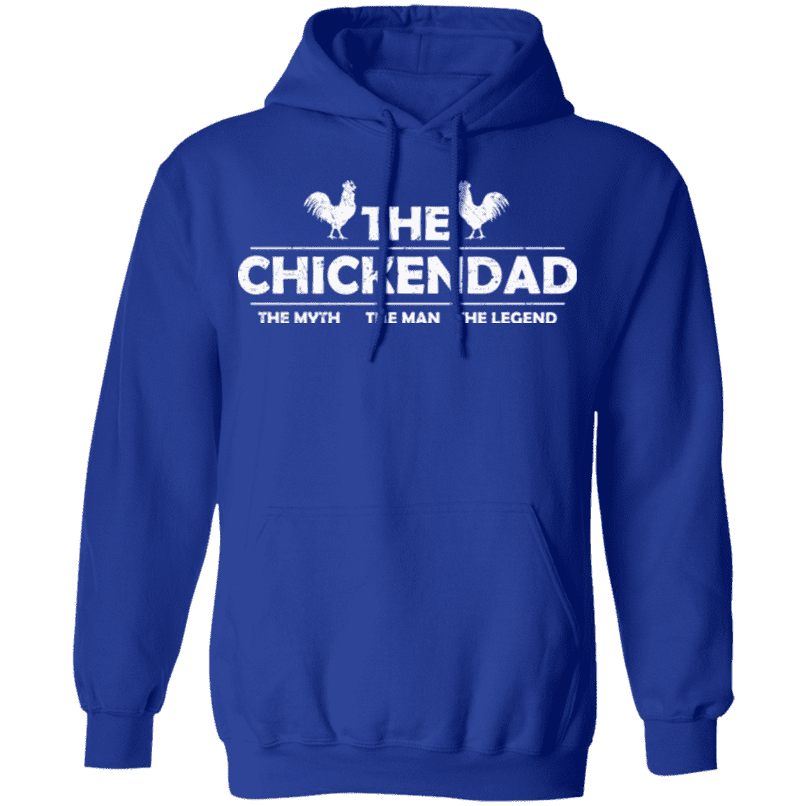 THE CHICKEN DAD Pullover Hoodie 8 oz.
