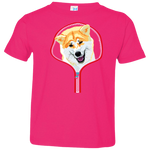 AKITA ZIP-DOWN Toddler Jersey T-Shirt