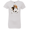 BEAGLE 3D Girls' Princess T-Shirt