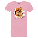 POMERANIAN 3D Girls' Princess T-Shirt