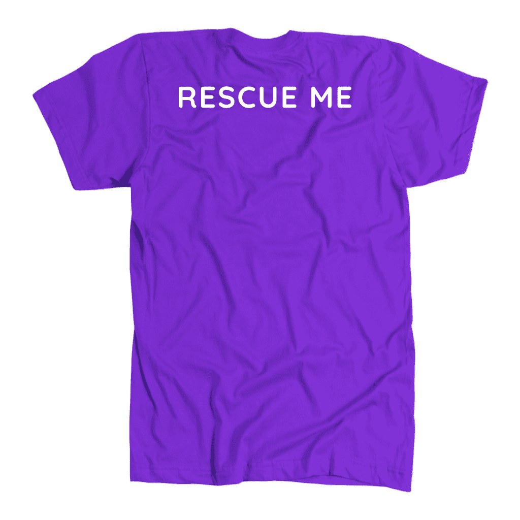 Rescue Me Great Pyrenees Pet T-Shirt Or Hoodie