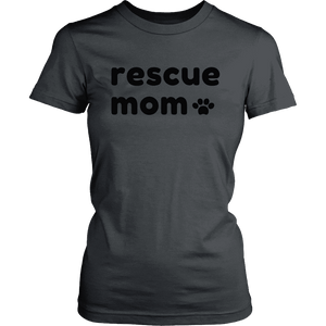 Rescue Mom Women's T-Shirt and Hoodie