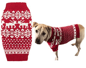 Red Dog Holiday Sweater