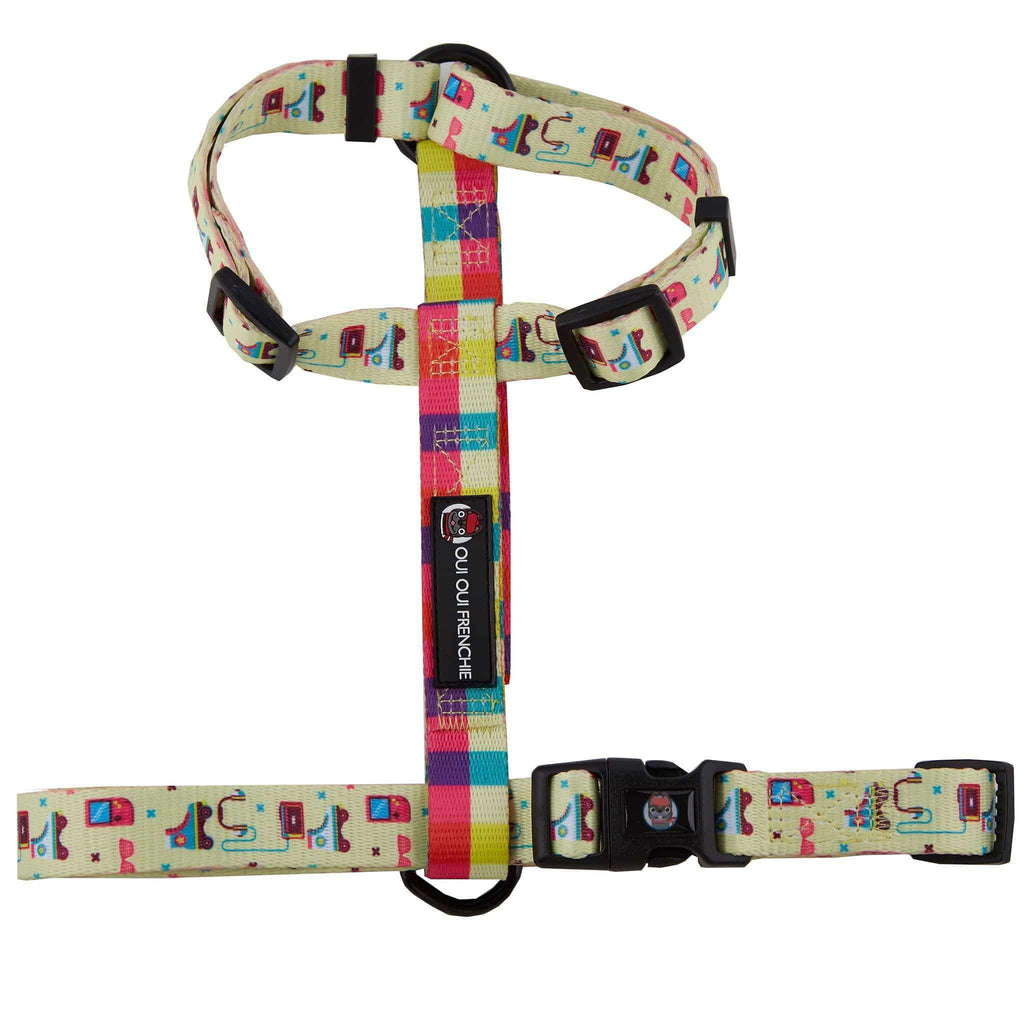 Dog Strap Harness - 80s Style