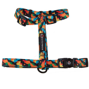 Dog Strap Harness - Camo Style