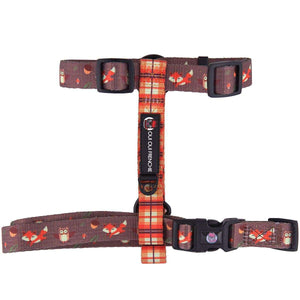 Dog Strap Harness - Fall Style