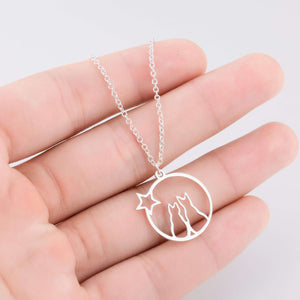 Cat Charm Necklace