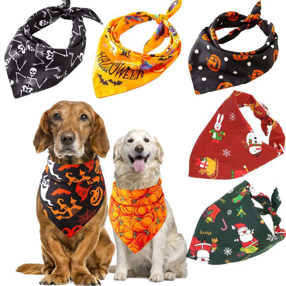 Holiday Pet Bandanas