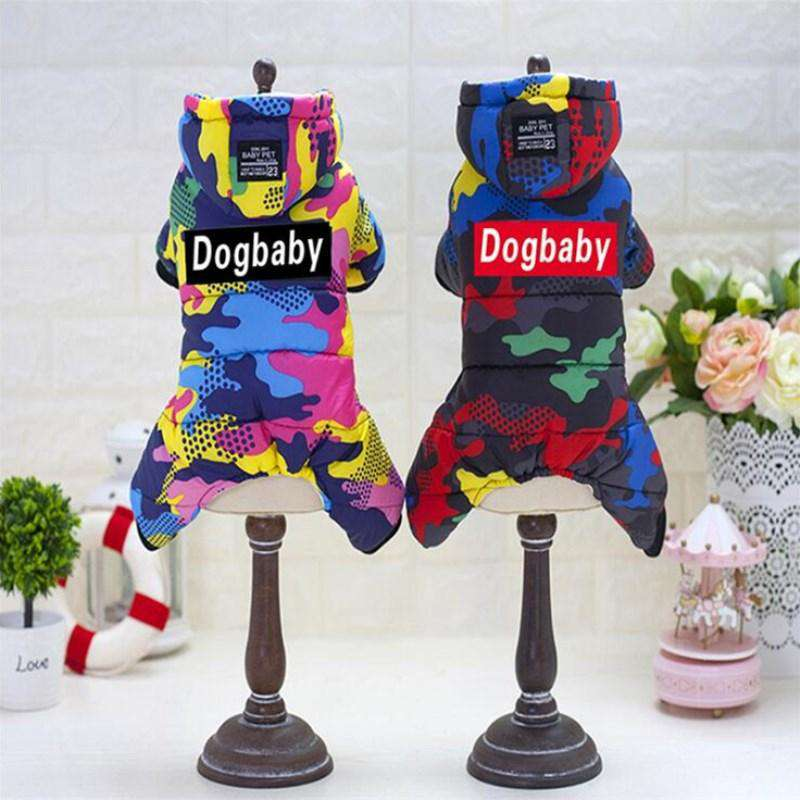 2019 Winter Pet Dog Clothes Warm Down Jacket Waterproof Coat S-XXL Hoodies for Chihuahua Small Medium Dogs Puppy  ,York