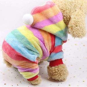 Warm Plush Pet Clothes for Small Dogs Cats Soft Fleece Cat Dog Coat Jacket Puppy Clothing Outfits Chihuahua Pug Bulldog Costume