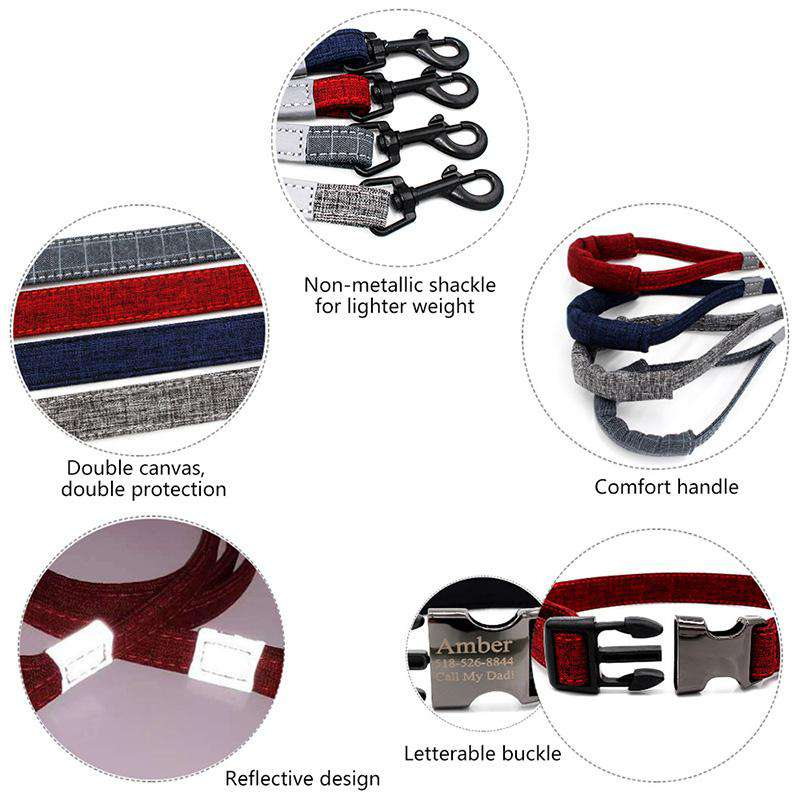 Urban Customized Pet Collar | Optional Leash
